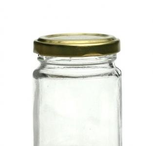Vasetto 106 in vetro con capsula 140 gr